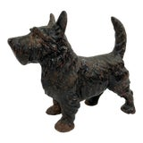 Image of Vintage Cast Iron Scotty Dog Door Stop For Sale