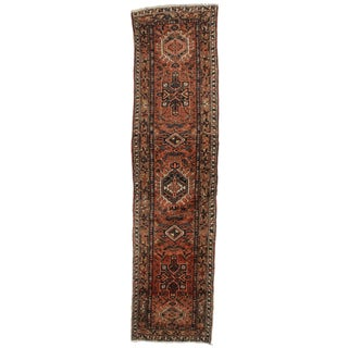 "Antique Persian Wool Runner - 2'9"" x 10'8"" For Sale"