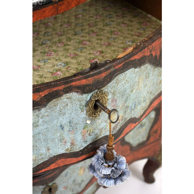 Late 18th Century Polychrome Chest of Drawers For Sale - Image 9 of 13