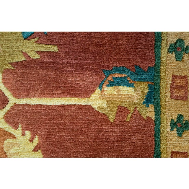 MANSOUR Mansour Fine Quality Tibetan Rug - 8′ × 9′ For Sale - Image 4 of 5