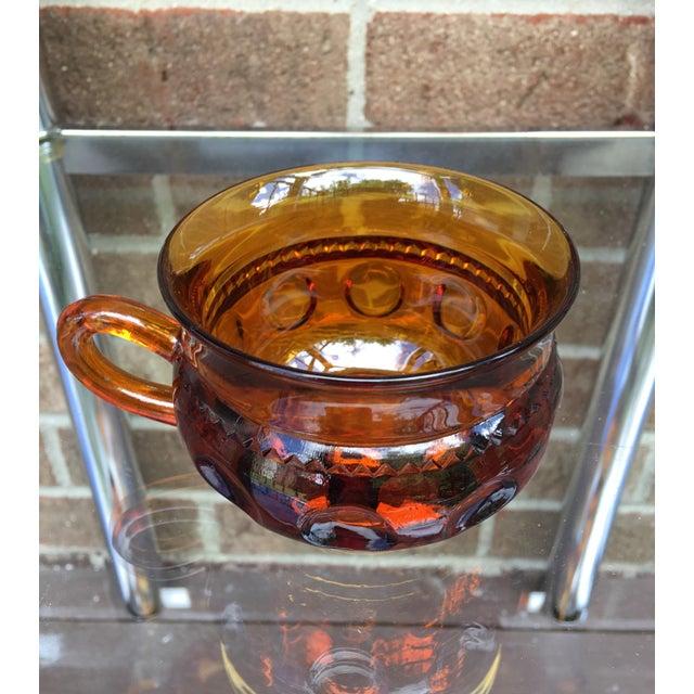 Vintage Amber Kings Crown Coffee Cups - Set of 20 - Image 4 of 6