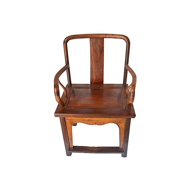 Vintage Ming Style Rosewood Armchair - Image 2 of 6