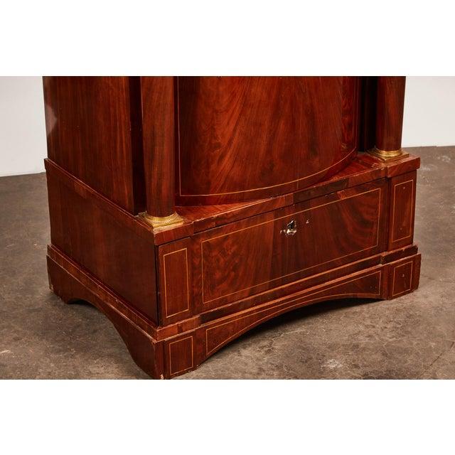 19th Century Danish Mahogany Empire Cabinet For Sale - Image 10 of 11