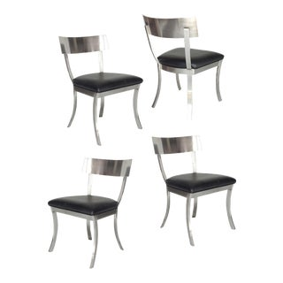 """Klismos Style"" Dining Chairs For Sale"