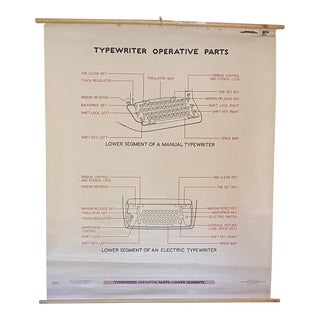 1960s Old Secretary School Type Posters No. 16 For Sale
