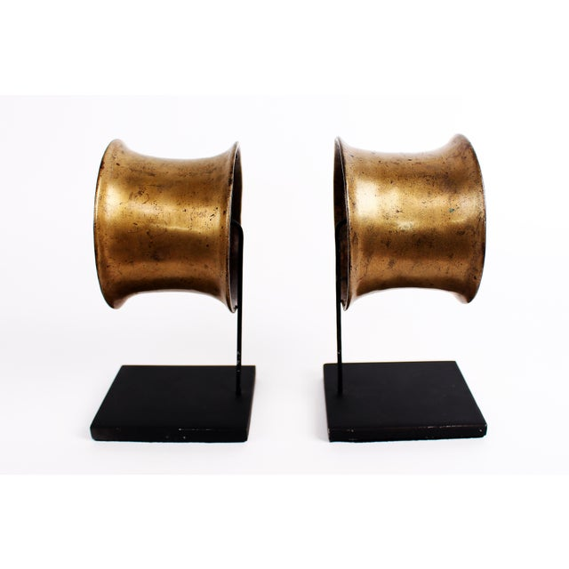 Primitive Heirloom Brass Armlet Ornament For Sale - Image 3 of 4