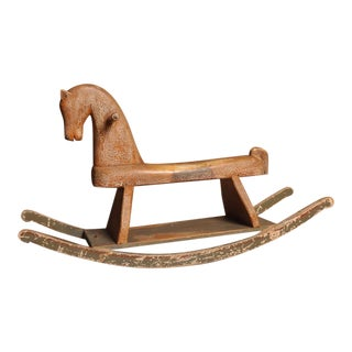 Early 20th Century Rocking Horse, Switzerland For Sale