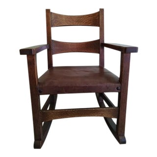Limbert Limbert #8074 Rocking Chair For Sale