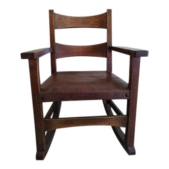 Limbert Limbert #8074 Rocking Chair For Sale