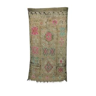 1970s Vintage Boujad Moroccan Rug - 5′2″ × 9′8″ For Sale