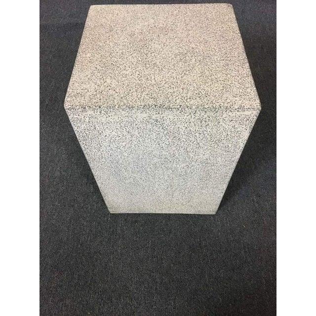 Contemporary Concrete Garden Stool - Image 3 of 7