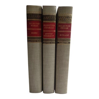 Vintage Classics Book Set - Selected Works Poems Stories of Cicero, Horace, Chekhov For Sale