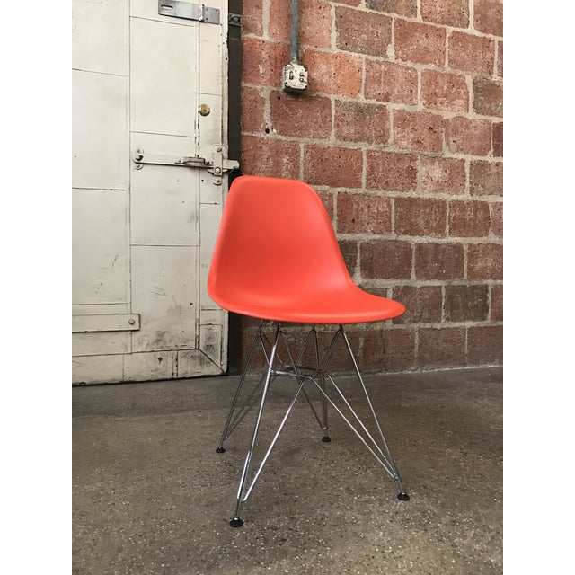 Eames Vitra Eiffel Base Red Chair - Image 2 of 5