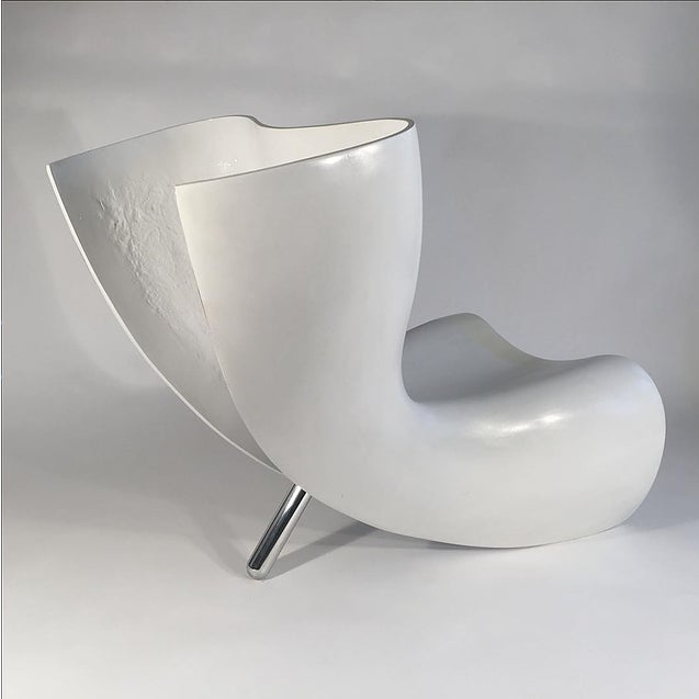 Contemporary Marc Newson Felt Chair For Sale - Image 3 of 3
