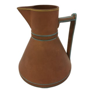 Victorian Wedgwood Rosso Antico Terra Cotta Pitcher For Sale