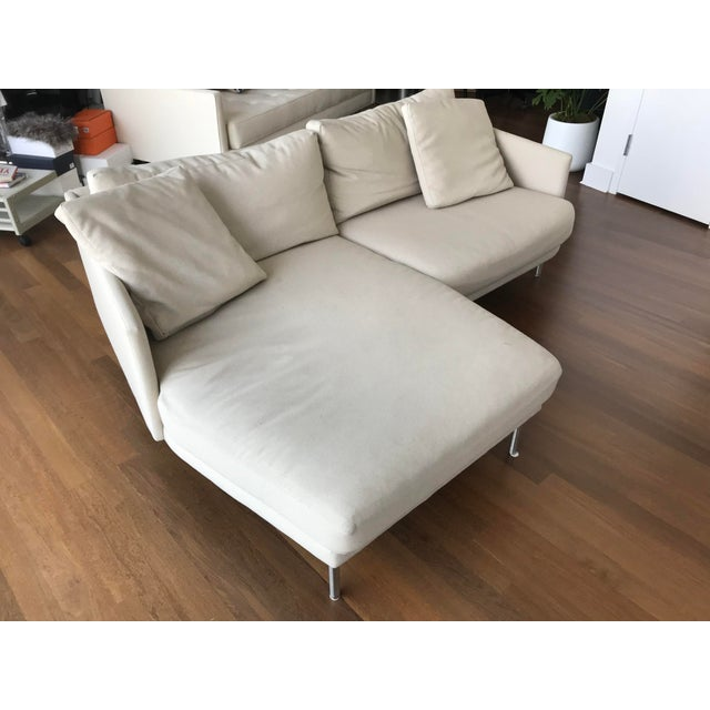 Modern Design Within Reach Camber Compact Sectional Sofa For Sale - Image 12 of 12
