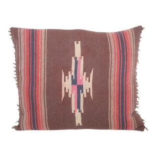 Navajo Style Weaving Pillow For Sale
