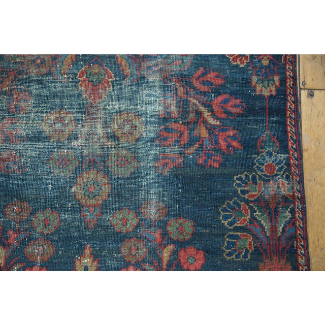 "Vintage Mahal Square Carpet - 6'4"" x 7'7"" - Image 4 of 10"