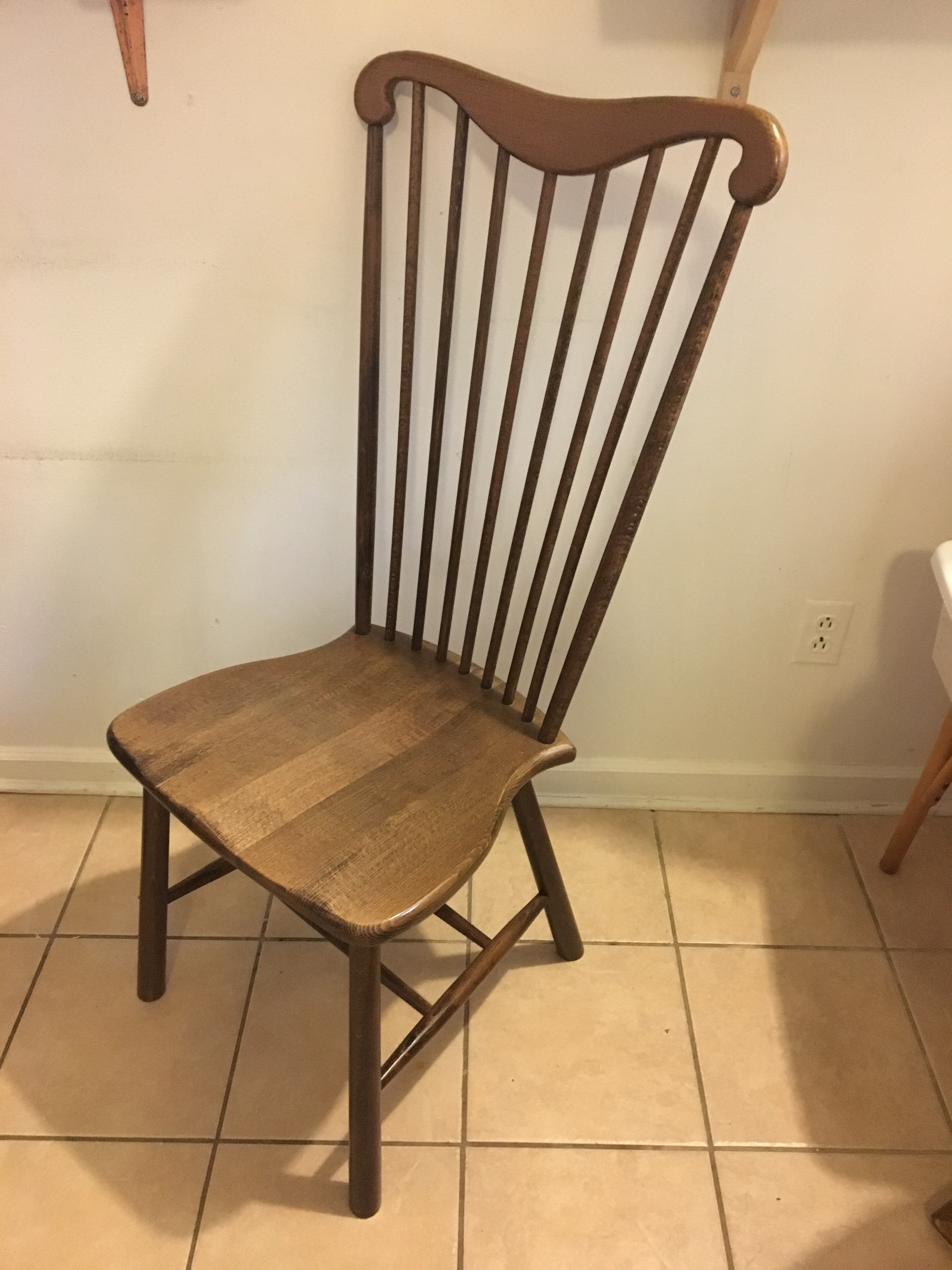 Pottery Barn Windsor Dining Chairs Set Of 6 Chairish