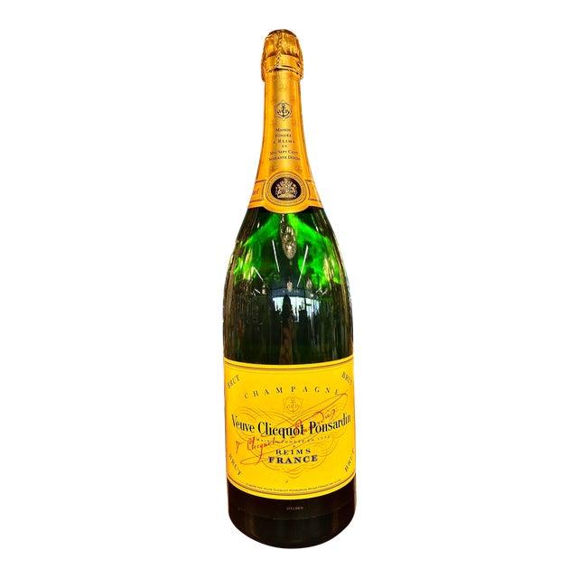 Late 20th Century French Veuve Cliquot Specimen Bottle For Sale