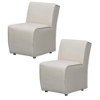 Sarreid Ltd Roller Bird Dining Chairs - A Pair