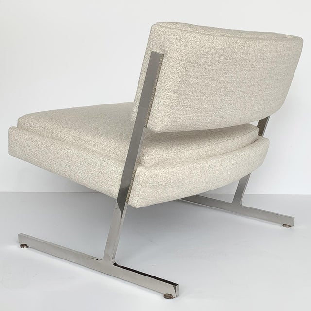 Pair of Harvey Probber Cantilever Slipper Lounge Chairs For Sale - Image 9 of 13