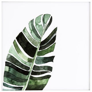 Banana Leaf Framed Print For Sale