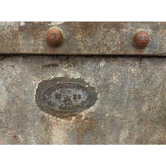 Metal 19th Century Large Mining Cart - Wolverhampton, England For Sale - Image 7 of 13