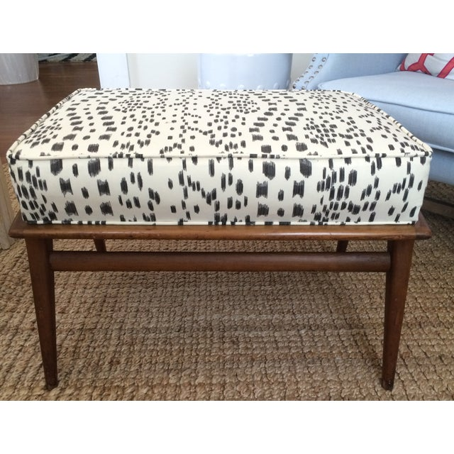 'Les Touches' Recovered Carlo DI Carli Modern Ottoman For Sale In Providence - Image 6 of 6