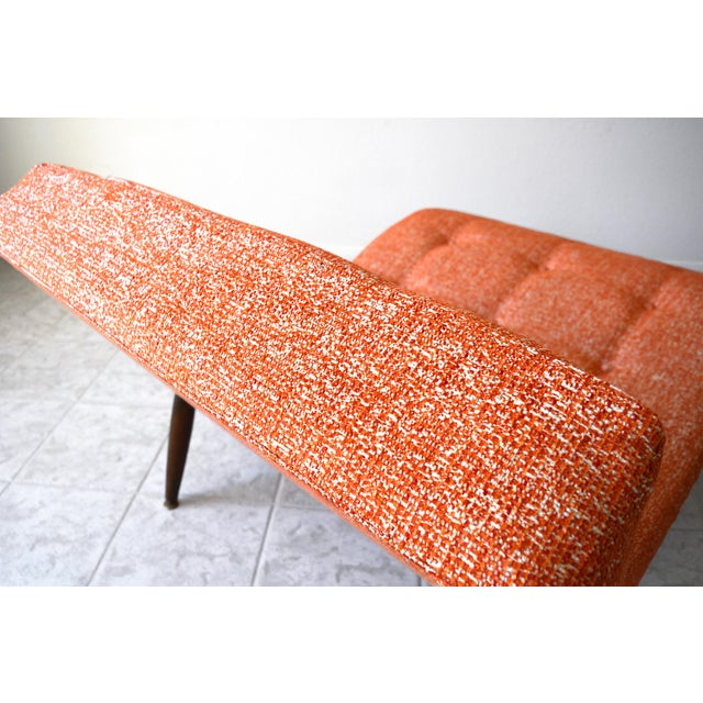 Mid-Century Modern 1960s Adrian Pearsall Wave Chaise Lounge For Sale - Image 3 of 8