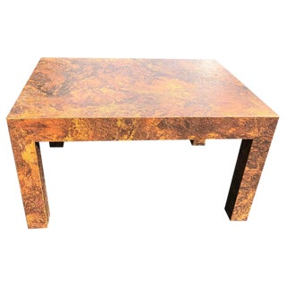 Paul Evans Style Parsons Coffee Table For Sale