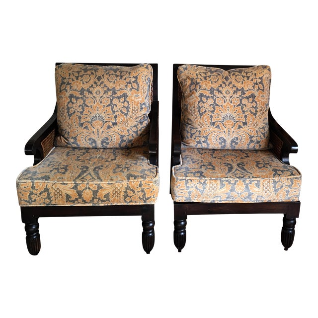 Pair of Ralph Lauren Home Arm Chairs - Image 1 of 5