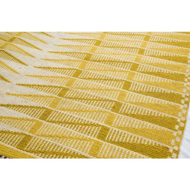Vintage Swedish Flat-Weave Carpet - Image 3 of 9