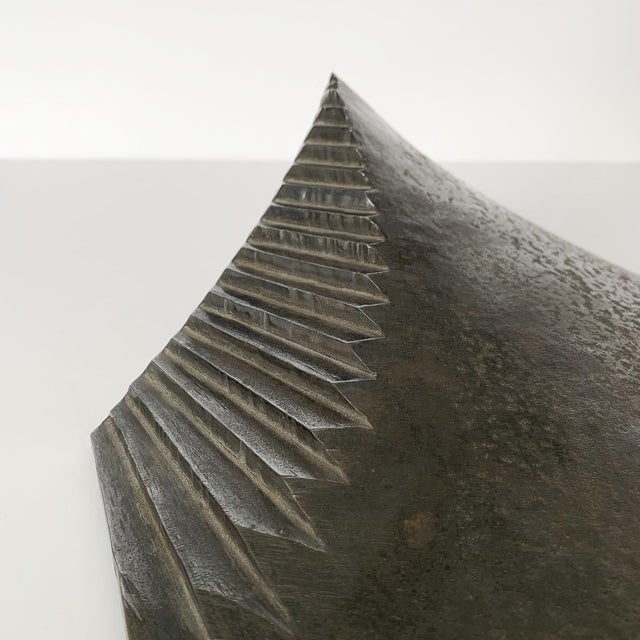 Abstract Bella Feldman Abstract Sculpture, Architectonic Series For Sale - Image 3 of 13