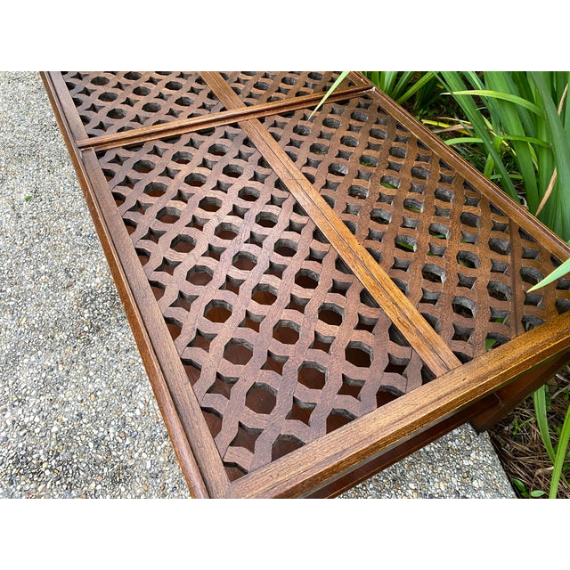 Moroccan 1970s Hollywood Regency Style Coffee Table For Sale - Image 3 of 8