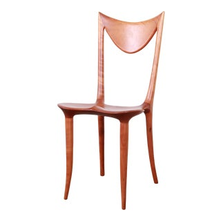 "Oskar Kogoj Studio Craftsman Sculptural ""Venetia"" Chair For Sale"
