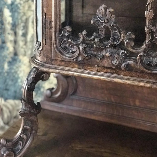 19th Century Liegeois China Buffet For Sale In Dallas - Image 6 of 13