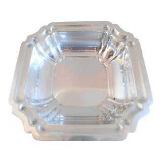 Mid Century International Sterling Square Dish For Sale