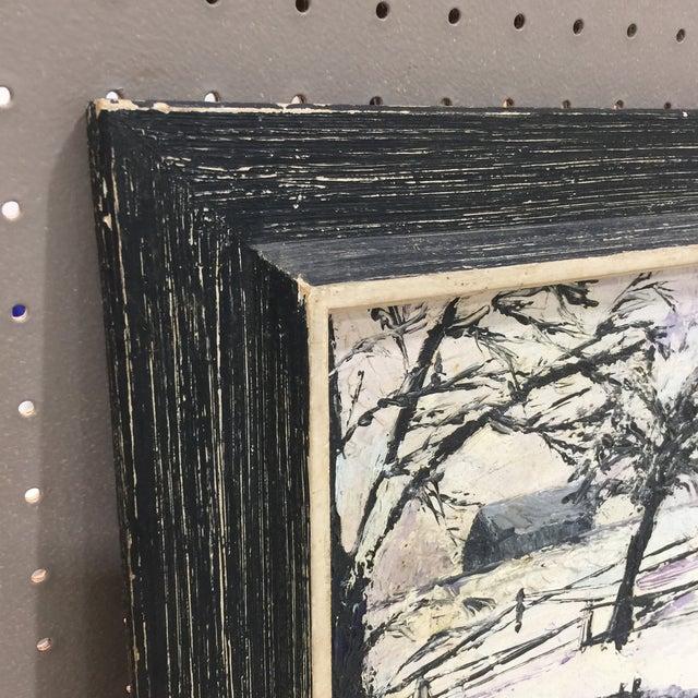 Winter Wonderland Landscape Painting For Sale - Image 4 of 8