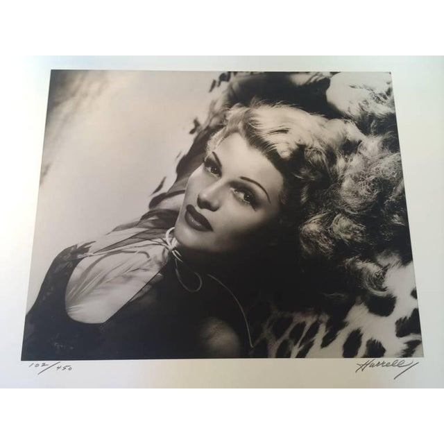 Black and White Rita Hayward Photograph by George Hurrell For Sale - Image 4 of 9