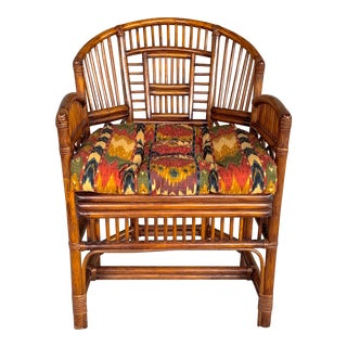 Vintage Brighton Bamboo Chair For Sale
