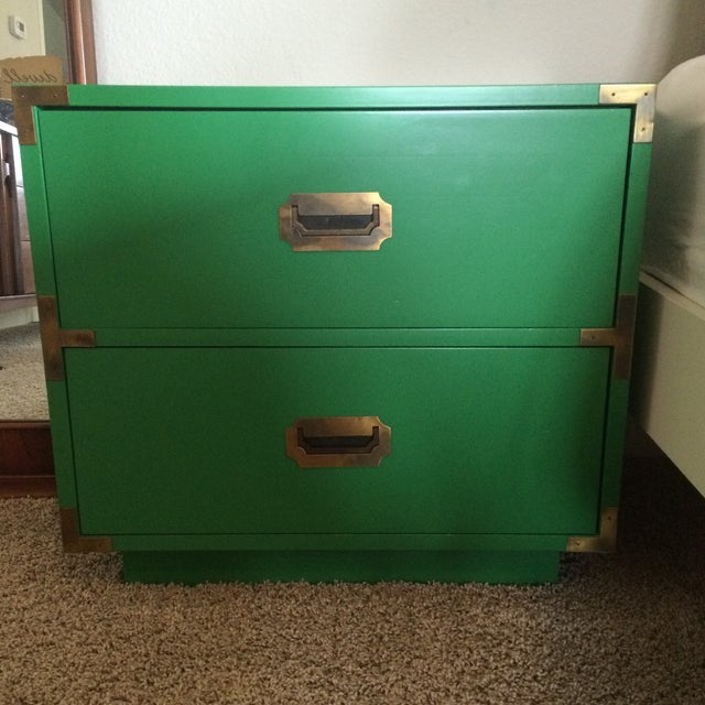 Dixie Campaign Nightstands - Pair of Two - Image 8 of 8