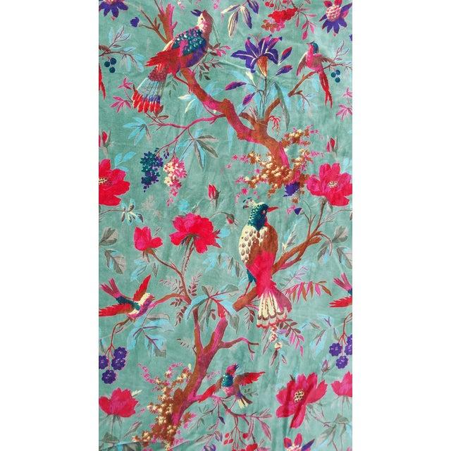 Cotton Velvet Indian Design Pillows - Pair For Sale - Image 9 of 10