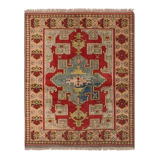 """Shiravan Vintage Turkish Rug, 5'3"""" x 6'4"""" feet"""
