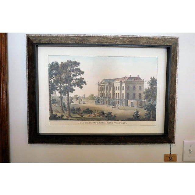 """Very Light Frame. Soothing Muted Colors. Image of """"Chateau de Brockhuysen Pres D'Ameronghen"""". New from Paragon Picture..."""