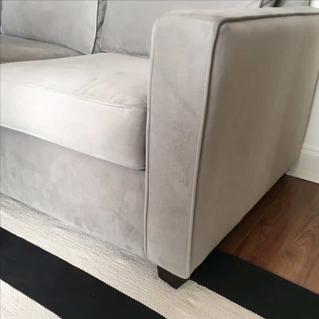 West Elm Henry Basic Twin Sleeper Sofa For Sale - Image 5 of 5
