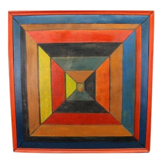 Russian School Original Abstract Painting For Sale