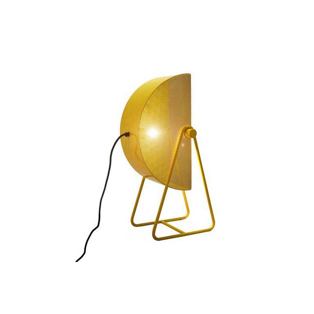 Bieffeplast Yellow Table Lamps With Adjustable Shades, 1970s For Sale - Image 6 of 8