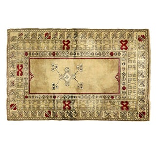 "Traditional Persian Wool Anatolian Rug - 4'4"" X 6'6"" For Sale"