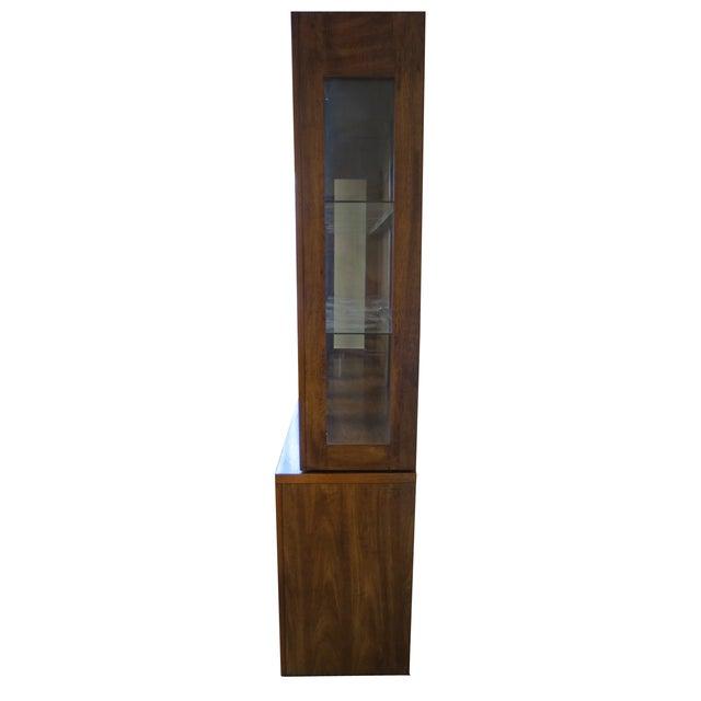 Beveled Glass China Display Cabinet - Image 4 of 7